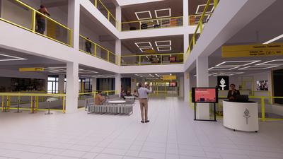 Jyväskylän yliopiston kirjastorakennuksen peruskorjaus valmistuu - Lähde aukeaa käyttöön elokuussa 2021